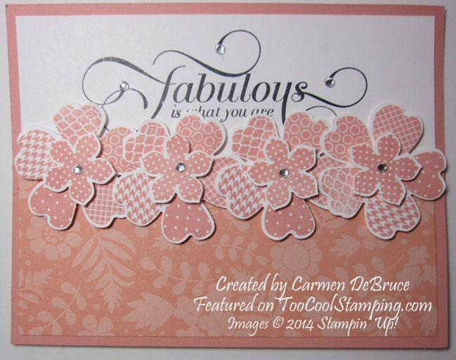 Carmen - fabulous half card copy