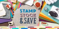 Stock up and save logo