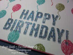 Birthday surprise - balloons 2