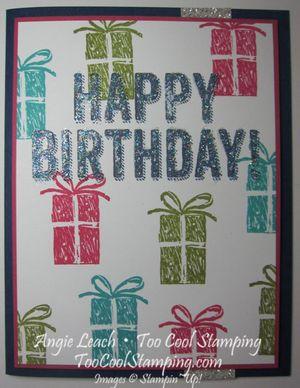 Birthday surprise - presents
