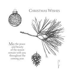 Ornamental pine 135104G