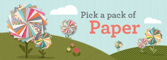 Pick A Pack of Paper header