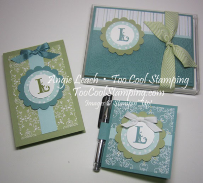 All is calm monogram set - boxed 1