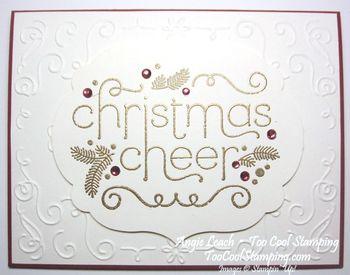 Cheerful christmas - cherry
