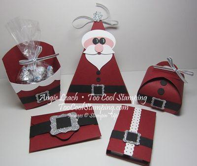 Santa buckle class - ensemble