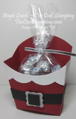 Santa buckle - fry box