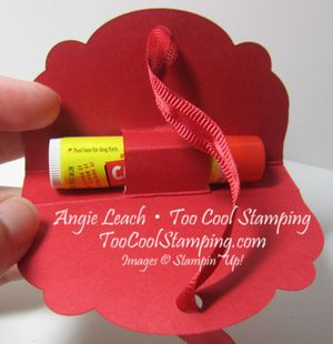 Angie - lip balm holder 2
