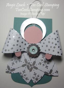 Gift bow - angel