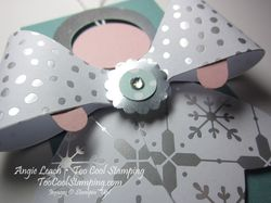 Gift bow - angel step 5