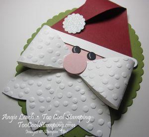 Gift bow - santa 2