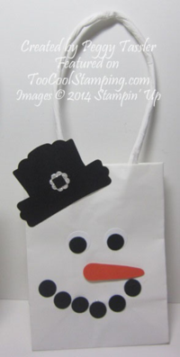 Peggy - snowman gift bag copy