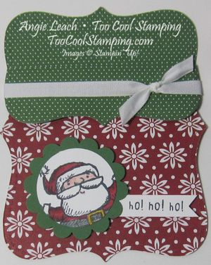 Trim the tree top note gc holder 2