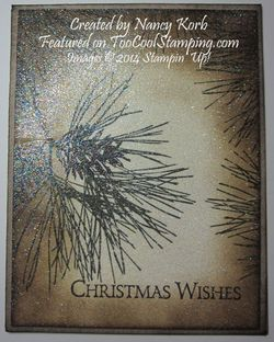 Nancy - ornamental pine glitter copy