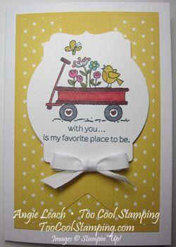 For the birds - daffodil wagon