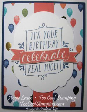 Celebrate real nice - v