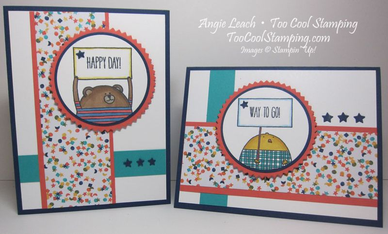 Cheerful critters - two cool