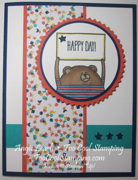 Cheerful critters - bear