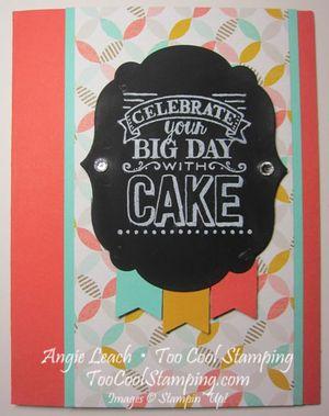 Chalk board sab - big day
