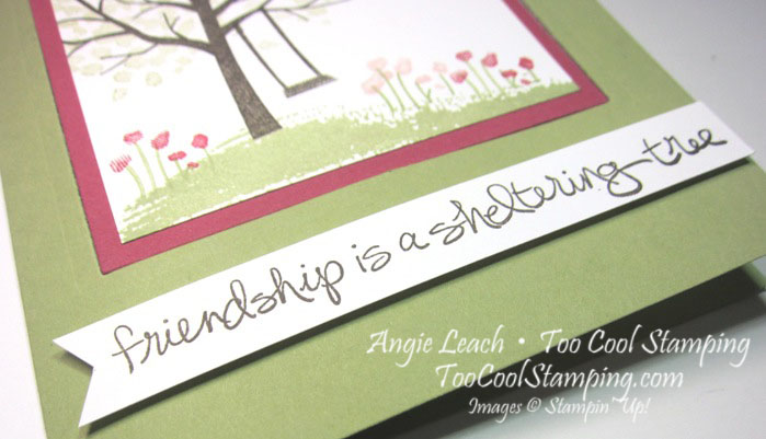Sheltering tree pop out swing card - pear4
