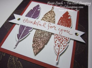 Blackberry four feathers - thankful 2