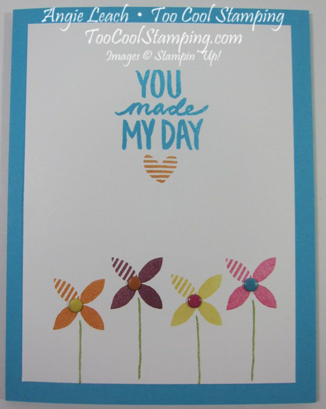 You made my day - turquoise