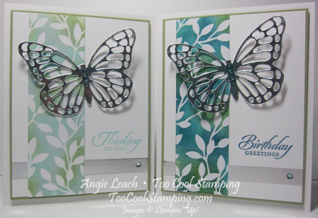 Irresistible silver butterfly - two cool