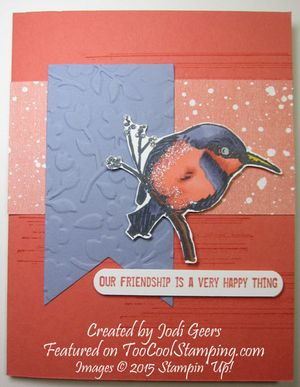 Jodi - a happy thing birdie copy