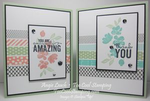 Amazing painted petals washi - two cool