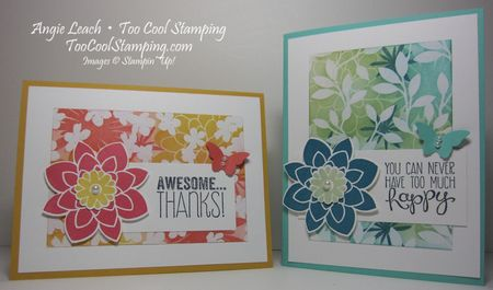 Irresistible blooms - two cool