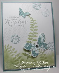 Jodis butterfly swap card copy