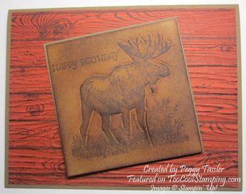 Peggy - faux leather moose swap woodgrain copy