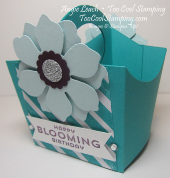 Blooming fry box caddy