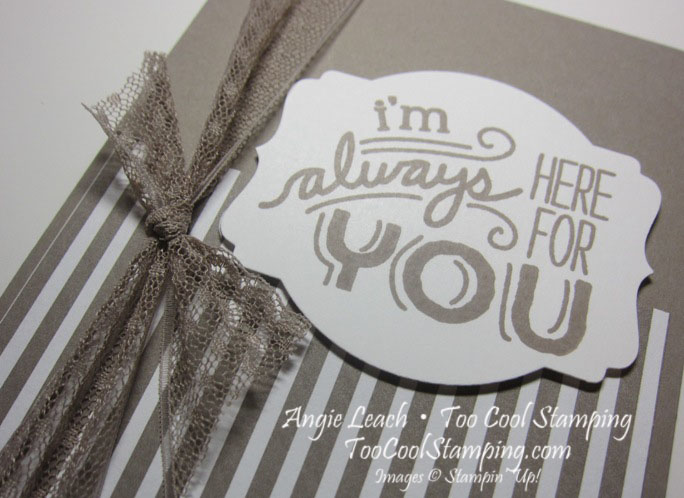 Taupe friendly wishes - always 2