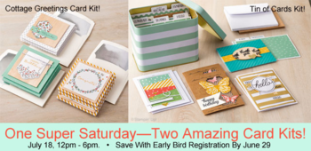 Super Stamping Saturday ad