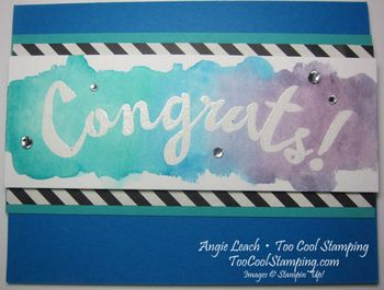 Congrats wash - pacific