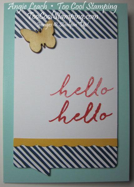 Watercolor Wishes - hello hello