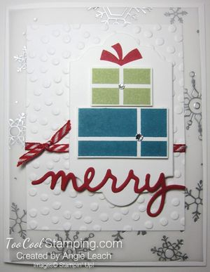 Greetings presents - snow merry 1
