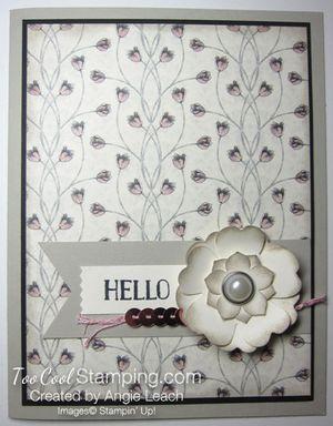 Timeless elegance petite floral - blush