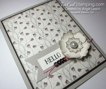 Timeless elegance petite floral - blush 3