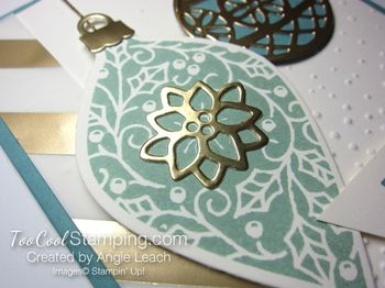 Embellished ornaments lagoon 2