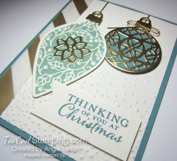 Embellished ornaments lagoon 5