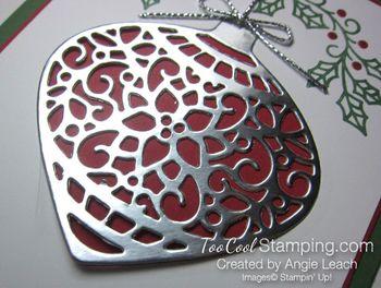 Embellished ornaments silver - 3