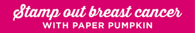 Paper pumpkin pink