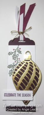 Embellished ornaments tag 1