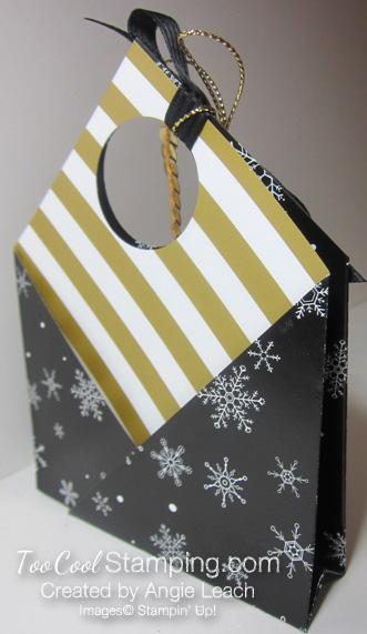 Winter wonderland pouch - snowflake 3