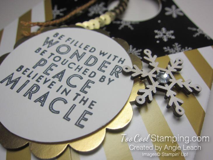 Winter wonderland pouch - snowflake 5
