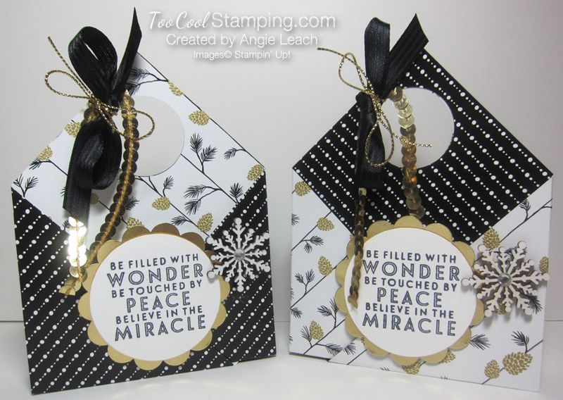 Winter wonderland pouch - pine cone two cool