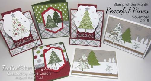 Peaceful pines - ensemble 1
