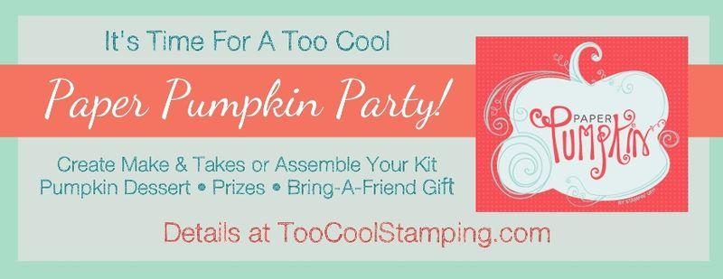 Paper Pumpkin Party banner