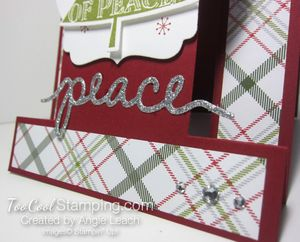 Peaceful pines step cards - prince of peace 5